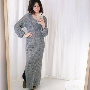 Kelly Love Hand Knit Linen Dress OS